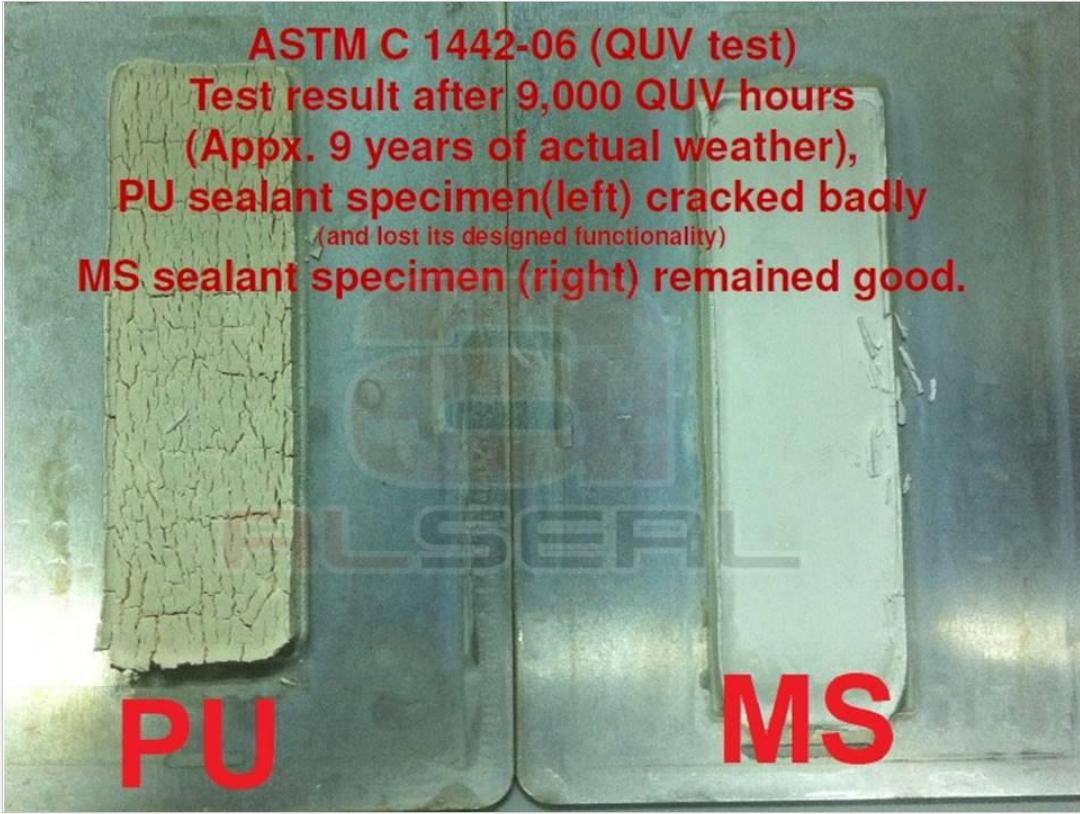 Excellent UV resistant MS sealant