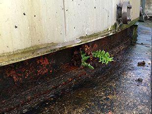 tank base corrosion