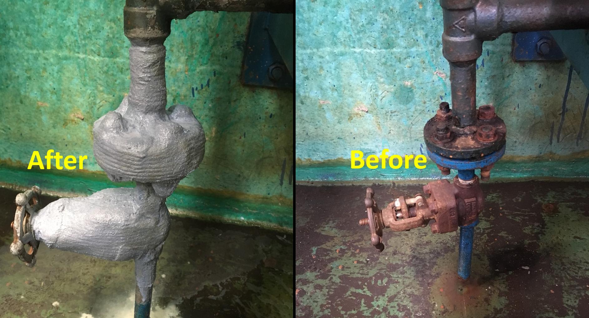 pump flange protection