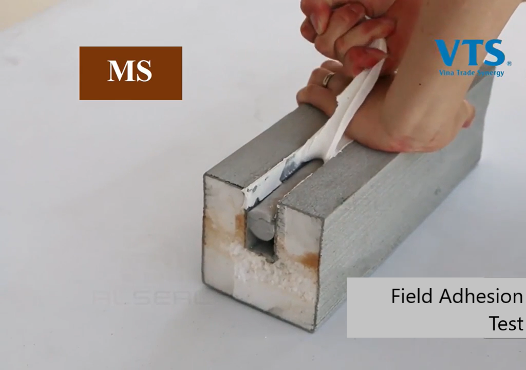 MS sealant hand pull test