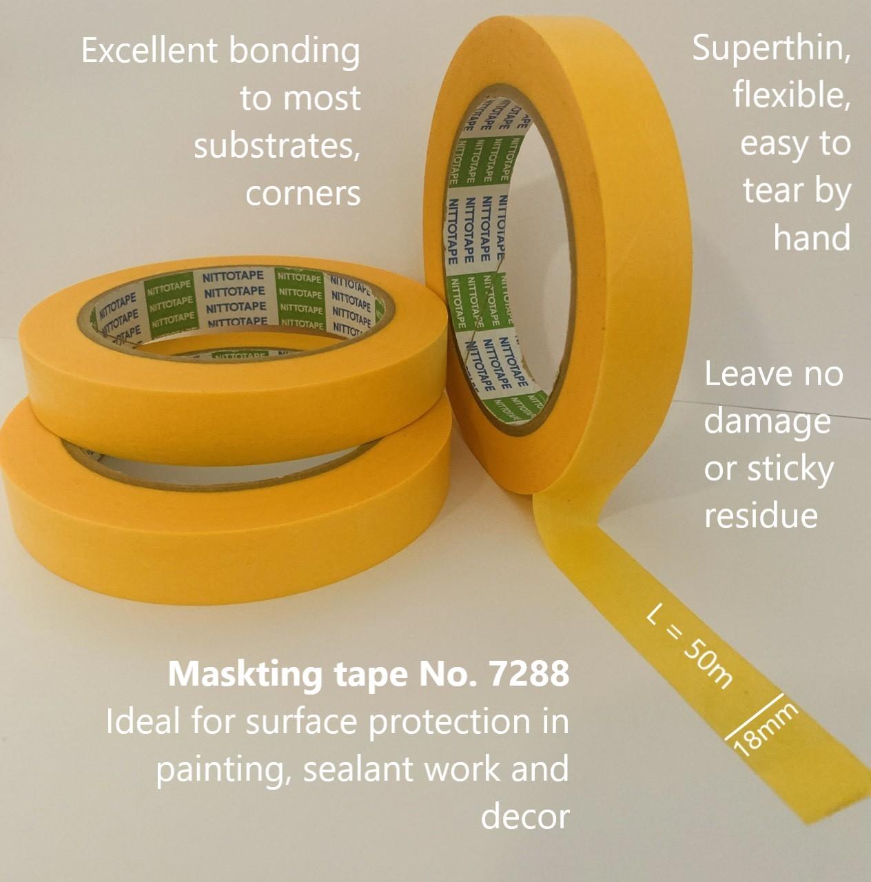 No 7288 masking tape. ok