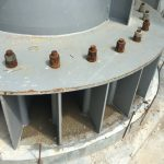 corrosion rusted bolt flange XG series 1 1