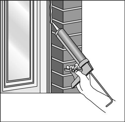 window perimeter sealant