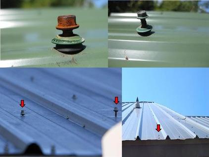 thấm dột mái tôn nhà xưởng