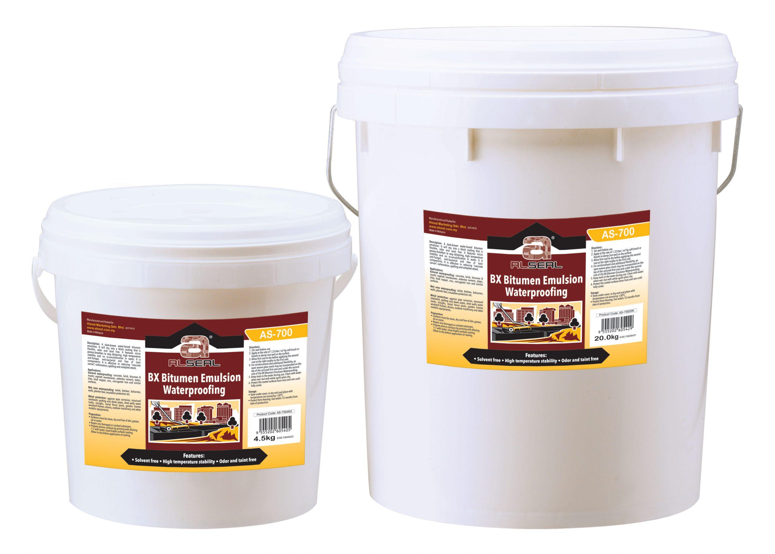 AS 700.Bitumen emulsion coating scaled