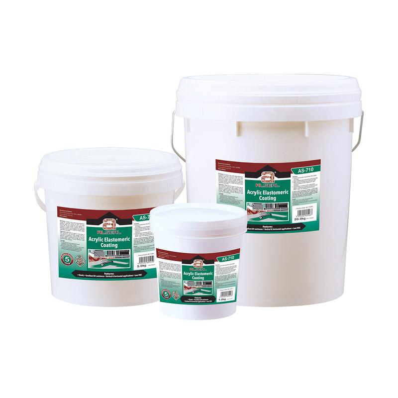 AS710 acrylic elastomeric coating