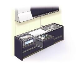 Gắn bảng trang trí nhà bếp