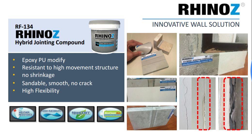 Bộ sản phẩm xử lý nứt trường triệt để RF134 Hybrid Crack Repair Solution