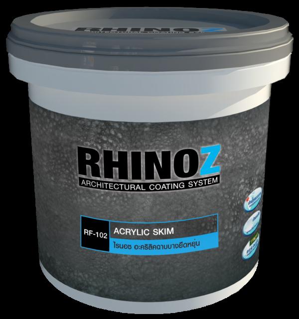 RF 102 RHINOZ Acrylic Skim per big 600x641 1