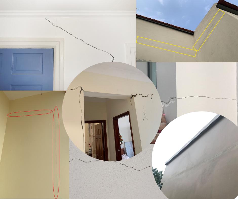 Các dạng nứt phổ biến đối với công trình