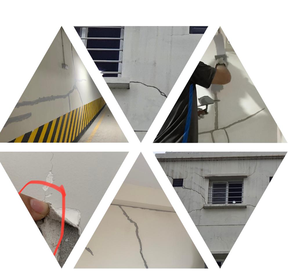 Các dạng nứt thường gặp và cách xử lý nứt