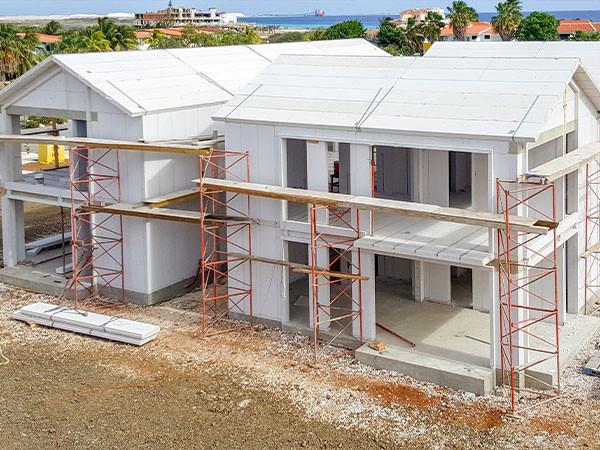 Villa làm bằng bê tông khí ALC