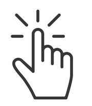click vector icon modern design 260nw 1414319474